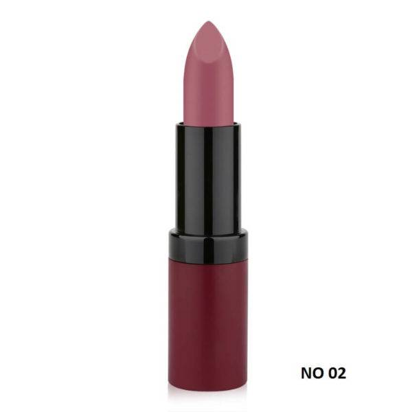 VELVET MATTE LIPSTICK GOLDEN ROSE 02