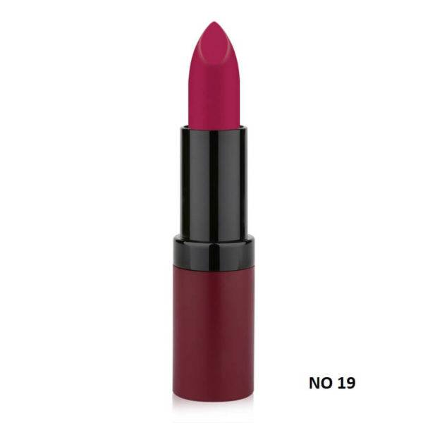 VELVET MATTE LIPSTICK GOLDEN ROSE 19