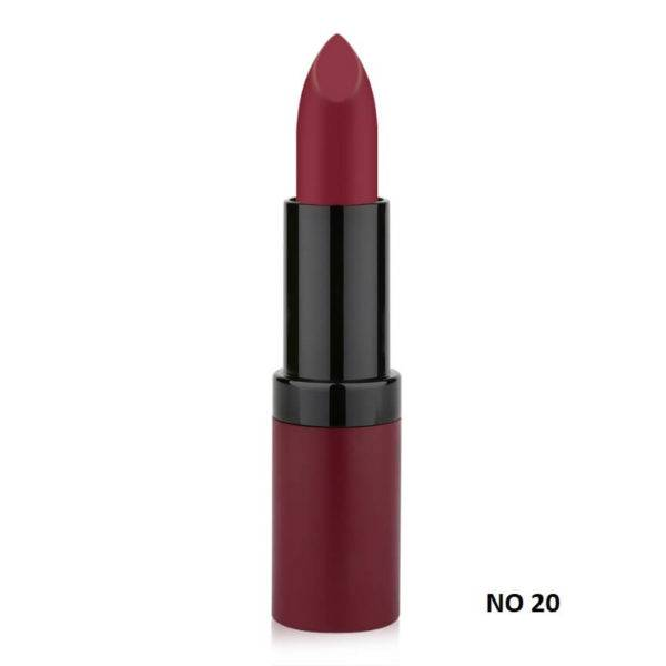 VELVET MATTE LIPSTICK GOLDEN ROSE 20