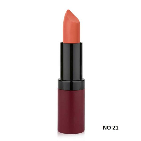 VELVET MATTE LIPSTICK GOLDEN ROSE 21