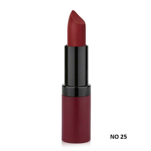 VELVET MATTE LIPSTICK GOLDEN ROSE 25
