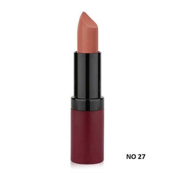 VELVET MATTE LIPSTICK GOLDEN ROSE 27