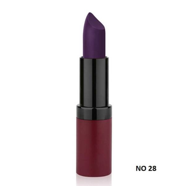 VELVET MATTE LIPSTICK GOLDEN ROSE 28