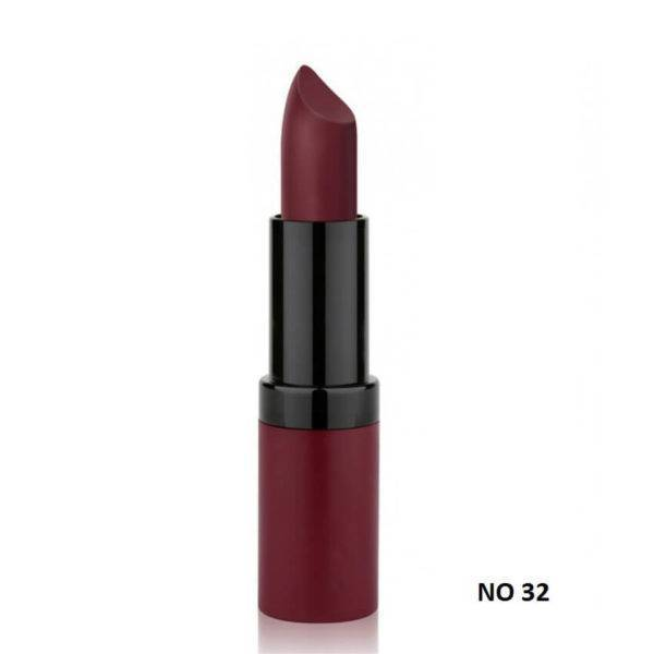 VELVET MATTE LIPSTICK GOLDEN ROSE 32