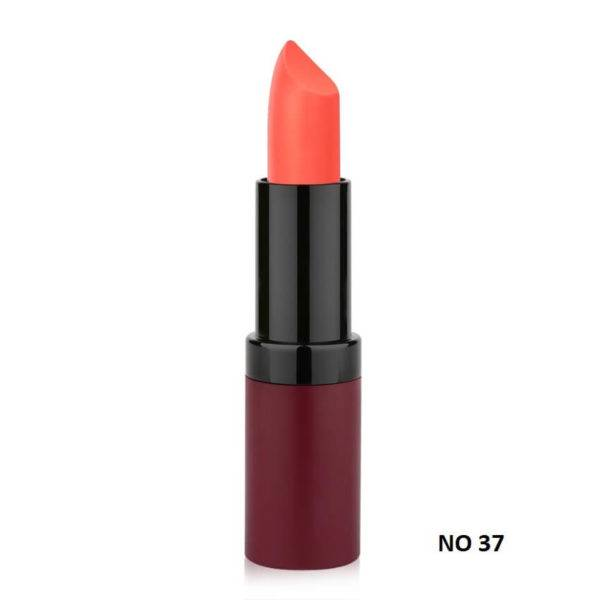 VELVET MATTE LIPSTICK GOLDEN ROSE 37