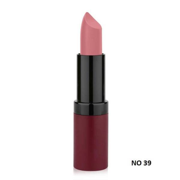 VELVET MATTE LIPSTICK GOLDEN ROSE 39
