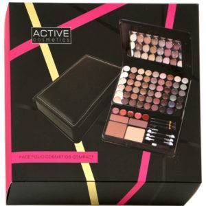 ACTIVE FACE FOLIO COSMETICS COMPACT
