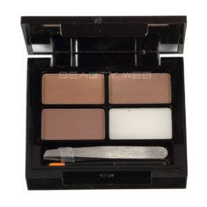 MAKEUP REVOLUTION FOCUS & FIX BROW KIT MEDIUM DARK