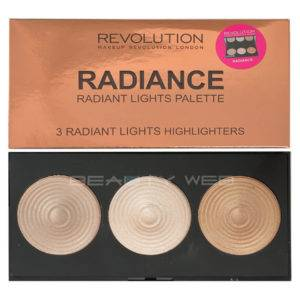 MAKEUP REVOLUTION HIGHLIGHTER PALETTE RADIANCE