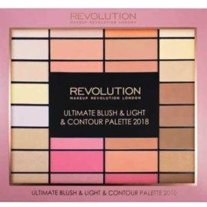 MAKEUP REVOLUTION ΡΟΥΖ HIGHLIGHT & CONTOUR PALETTE