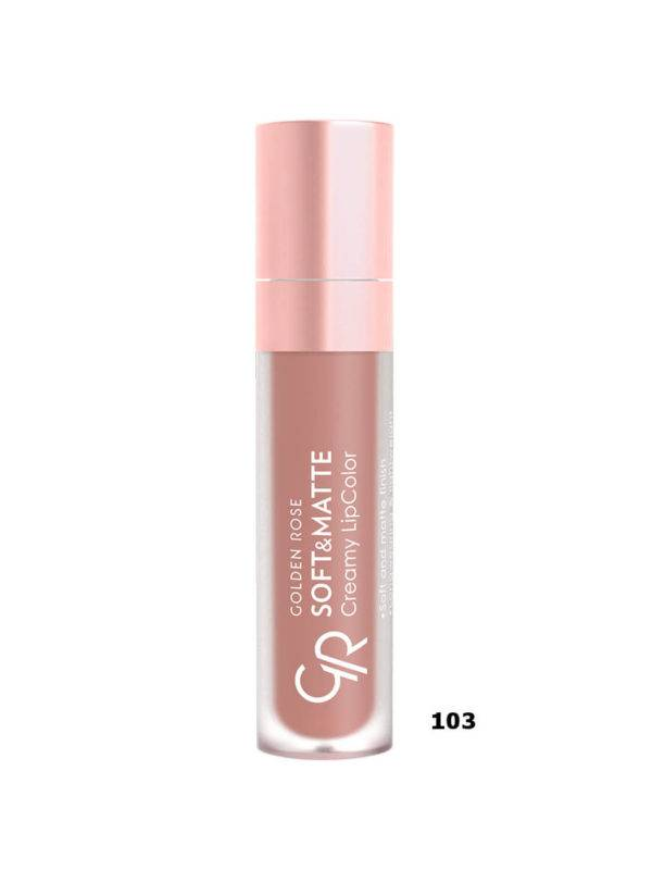GOLDEN ROSE SOFT MATTE CREAMY LIPCOLOR ΚΡΑΓΙΟΝ