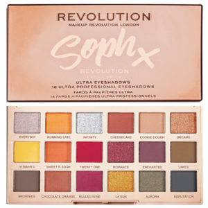 MAKEUP REVOLUTION SOPH X ΠΑΛΕΤΑ ΣΚΙΩΝ EXTRA SPICE