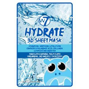 W7 3D Sheet Face Mask Hydrate