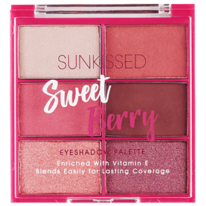 Sunkissed Sweet Berry Eyeshadow Palette