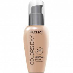 Revers Mineral Make Up Foundation Colors Day 24h