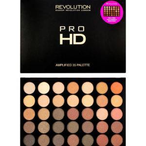 Makeup Revolution Pro HD Amplified 35 Σκιες Ματιων Direction