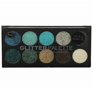Technic Pressed Glitter Palette Mermaid