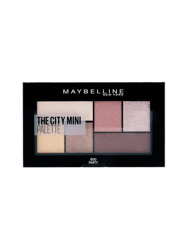 Maybelline The City Mini Palette 600 Party